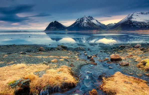 Picture Iceland, Cold, Seascape
