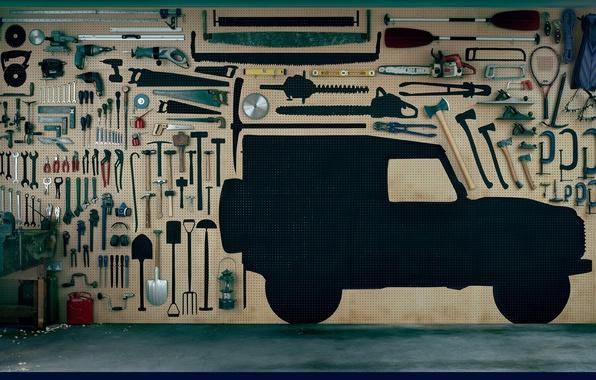 Picture machine, instrumento, Garage, repair, UAZ Phaeton