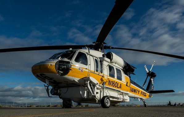 Picture Sikorsky, transport helicopter, S-70A