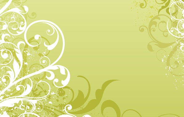 Picture white, green, pattern, vector, texture, ornament, Abstract, design, background
