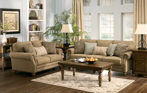 Wallpaper room interior living room images for desktop for Living room 640x1136