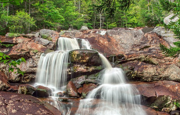 wallpaper nature waterfall rock images for desktop section
