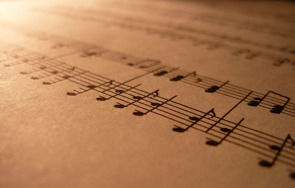 Picture macro, notes, music