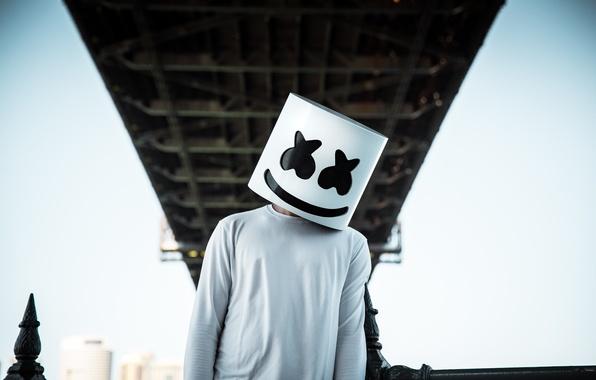 Picture DJ, EDM, Marshmello