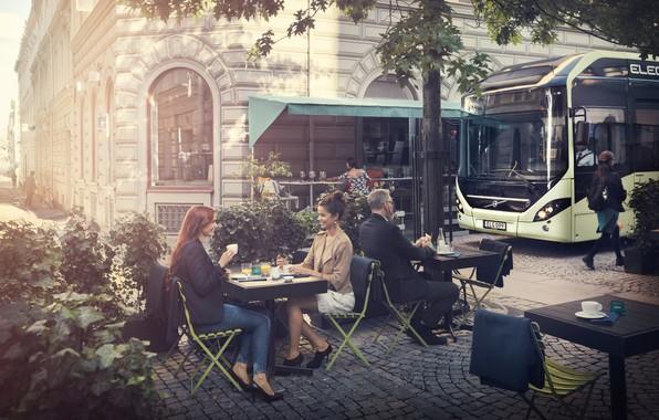 Picture Volvo, Volvo, Gothenburg, electric bus, Gothenburg, Volvo 7900 Electric, Volvo Buses, electric bus