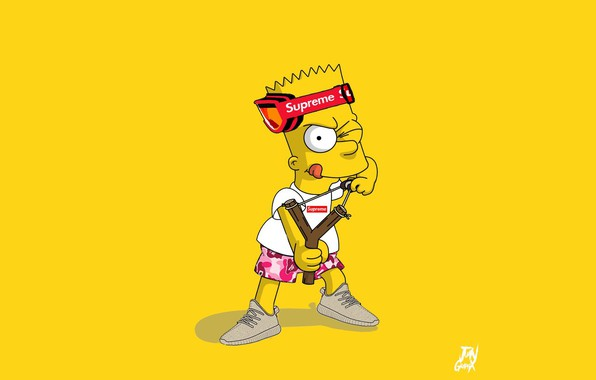 Picture The simpsons, Figure, Simpsons, Bart, Art, Cartoon, The Simpsons, Character, Supreme, Bart, The animated series, …