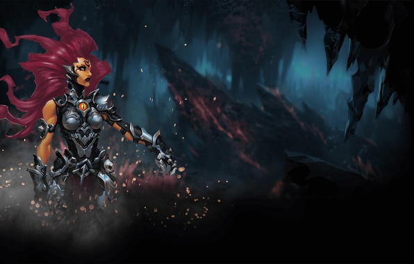 Wallpaper game, armor, weapon, Darksiders, 2018, strong ...