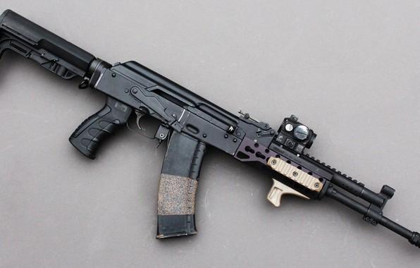 Picture weapons, machine, weapon, custom, custom, Kalashnikov, AKM, AKM, assault rifle, assault Rifle