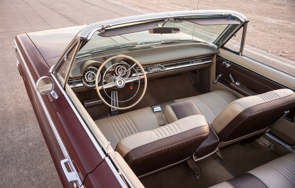 Picture Dodge, 1965, Convertible, Custom 880, the interior of the car