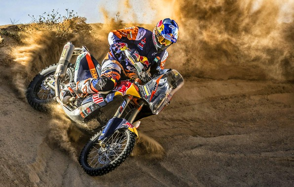 Picture Sand, Sport, Speed, Skid, Motorcycle, Racer, KTM, Bike, Rally, Moto, Motorbike, Dune