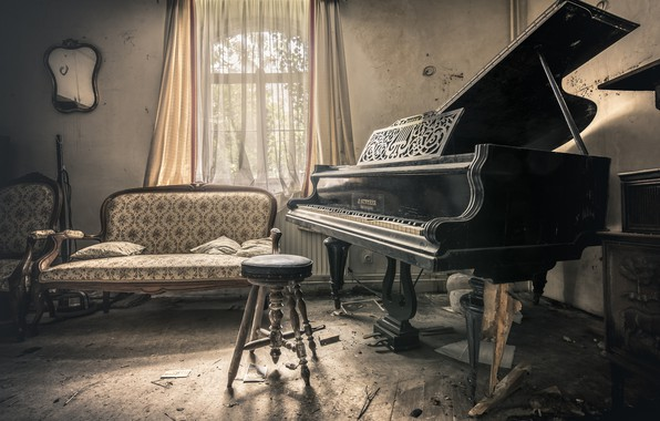 Picture music, piano, Private symphony