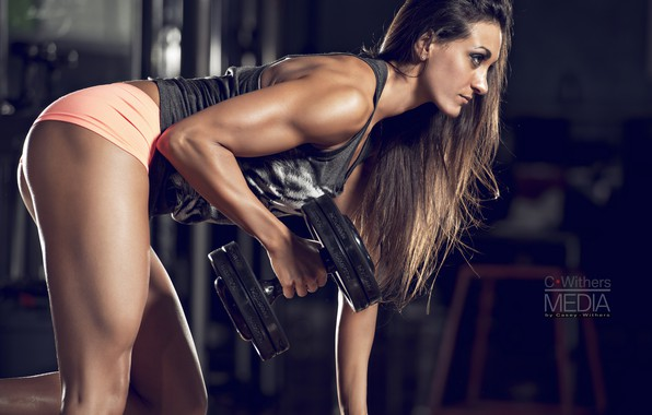 Picture girl, pose, female, workout, fitness, gym