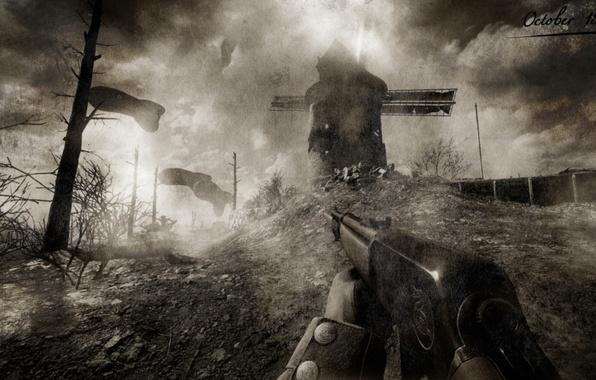 Photo Wallpaper Battlefield 1 Graphics Ww Ancien The Field Of Battle