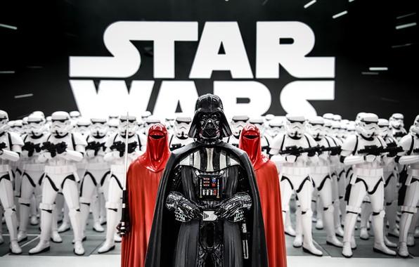 Picture Darth Vader, Star wars, Stormtrooper