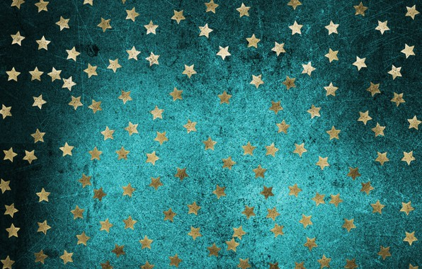 Picture stars, background, gold, texture, gold, stars