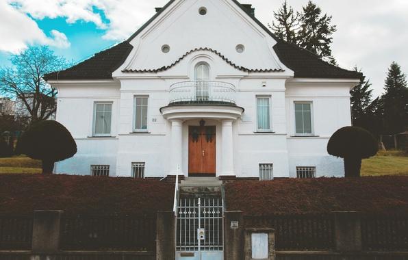 Picture gate, architecture, mansion