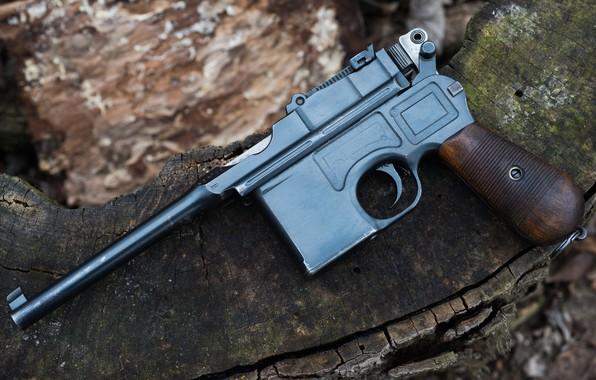 Picture 1918, Mauser, C96, Weimar Republic
