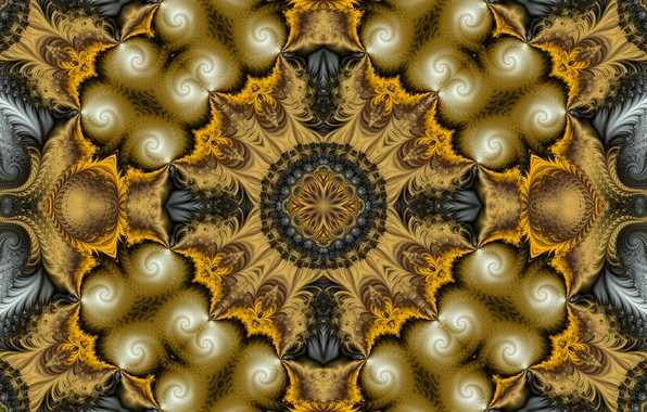 Picture pattern, texture, fractal, symmetry