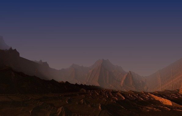 Picture desert, 2017, Mandelbulb3D, alievgraph