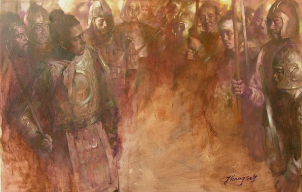 Picture warriors, HongNian Zhang, otenki brown, 9rebellingsoldiers
