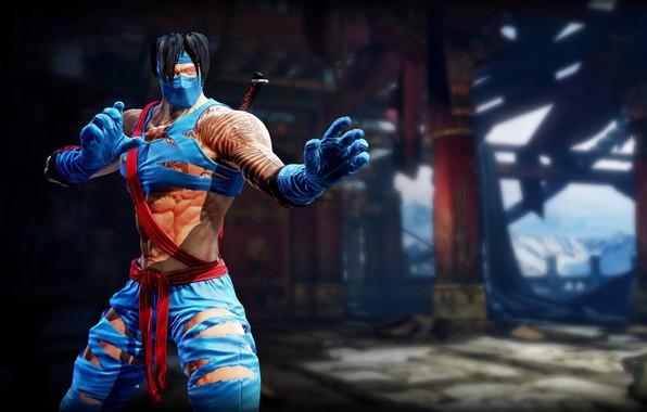 Picture game, man, asian, martial artist, gloves, oriental, strong, seifuku, Killer Instinct