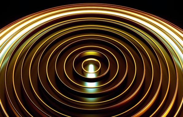 Photo wallpaper ball, sphere, the volume, edge