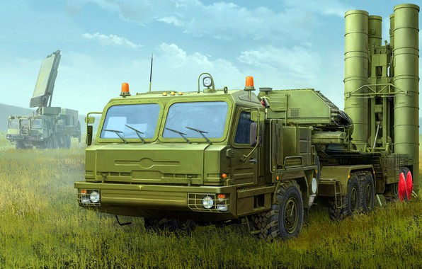 Picture Triumph, S-400, SAM, large and medium-range, Russian anti-aircraft missile system, anti-aircraft missile system
