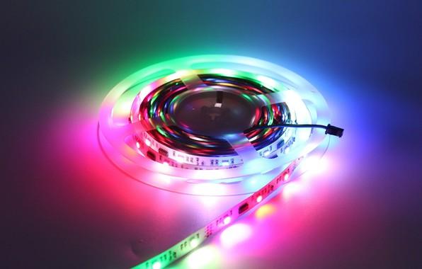 Picture cassette, neon, film