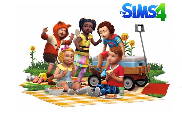 Picture baby, game, Sims, Sims 4, Toddler