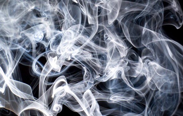 Picture Black, White, Smoke, Texture, Backgraund