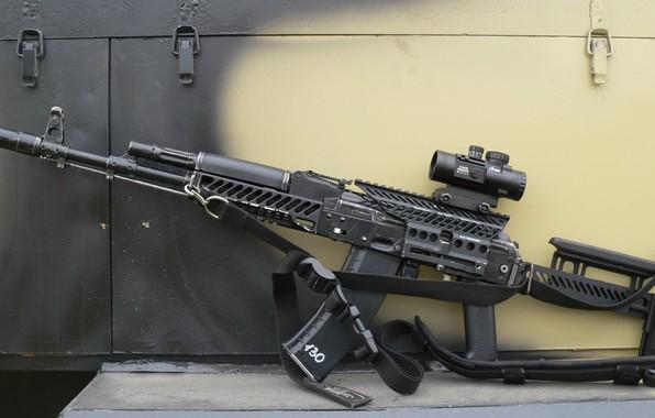 Picture weapons, tuning, gun, weapon, custom, custom, AK-74, Kalashnikov, AK-74