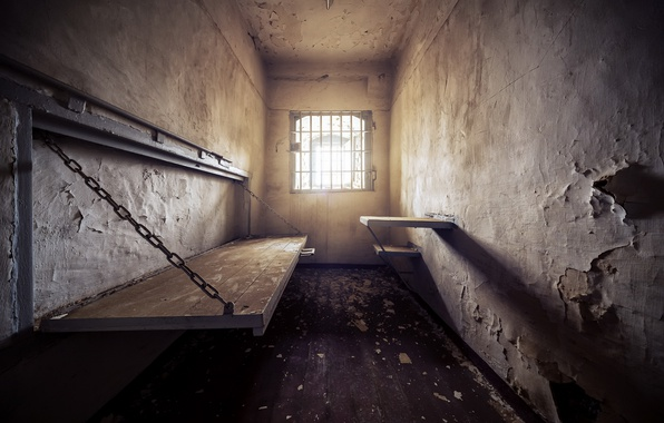 Picture light, camera, prison