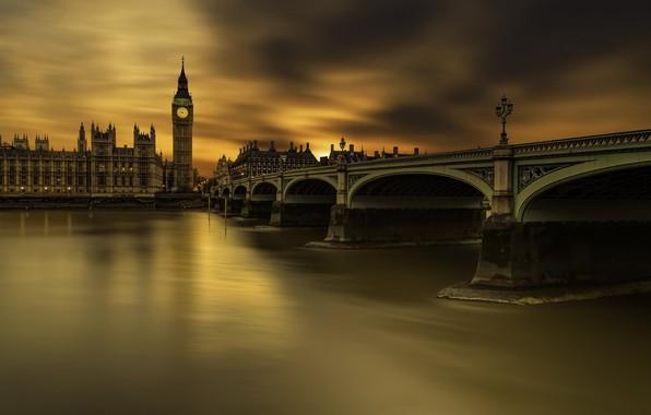 Picture London, Long exposure, Westminster bridge