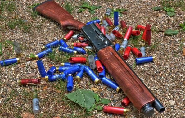 Picture weapons, weapon, shotgun, Shotgun, Remington, Remington, Model 11, Bleed, Model 11, sawn-off shotgun