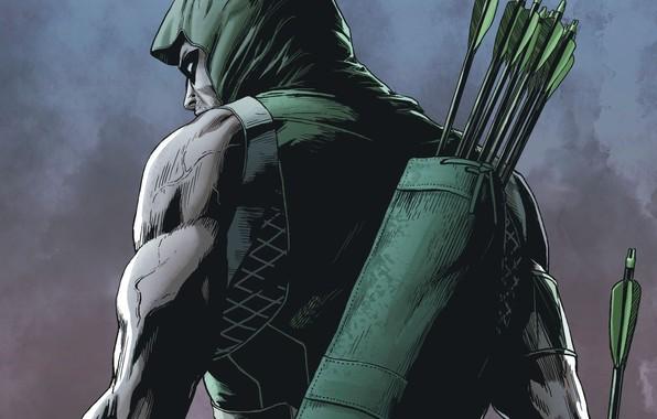Le Sept de carreaux (Libre)  Green-arrow-arrow-oliver-queen-hero-comics