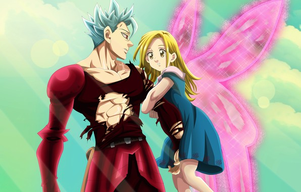 Wallpaper anime art nanatsu no taizai the seven deadly sins ban elaine images for desktop - Ban seven deadly sins wallpaper ...
