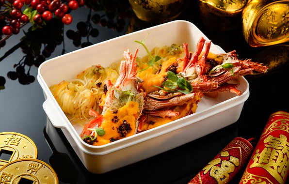 Picture crab, food, seafood, noodles