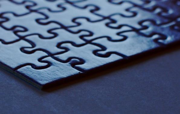 Picture macro, puzzle, corner