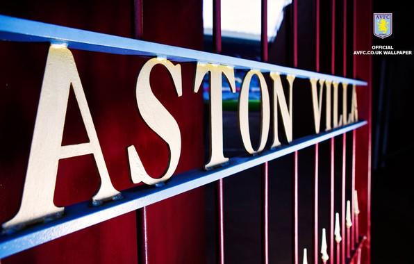 Wallpaper Wallpaper, Sport, Logo, Stadium, Football, Aston