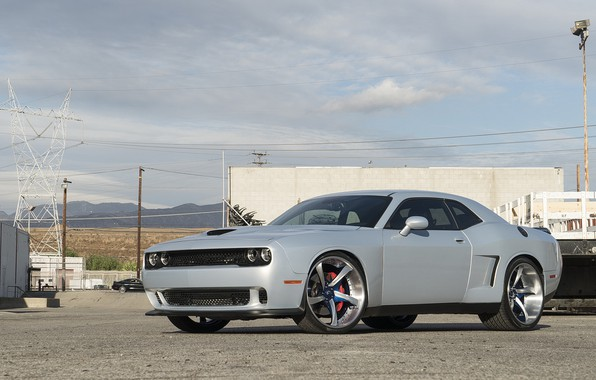 Picture dodge, challenger, widebody, forgiato