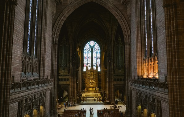 Picture Cathedral, Liverpool, Wedding