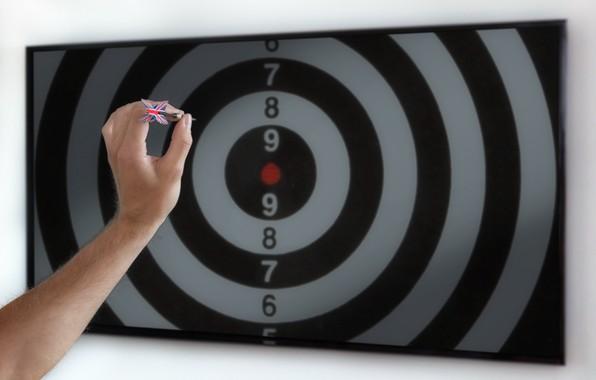 Picture sport, TV, Darts, target