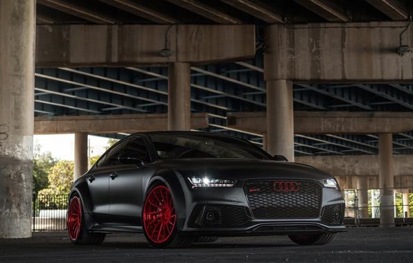 Picture Audi, wheels, Sportback, RS7, avantgarde