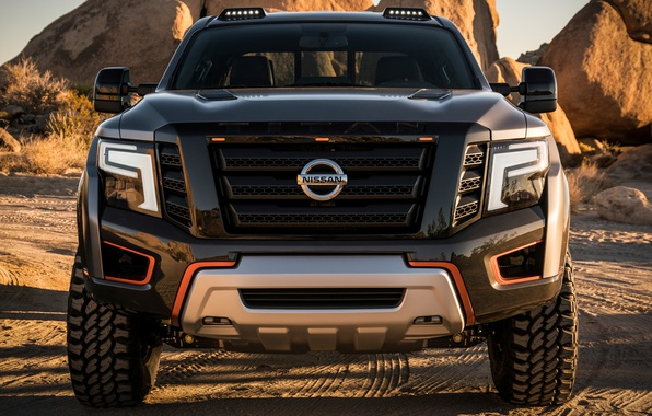 Picture SUV, Nissan, protector, Nissan Titan Warrior