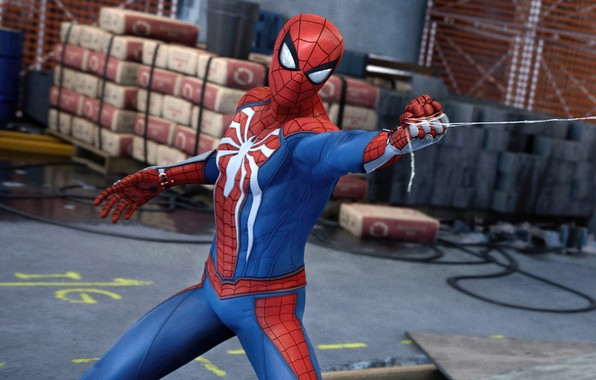 Picture The game, Web, Costume, Hero, Mask, Superhero, Hero, Web, Marvel, Spider-man, Game, Comics, Spider-Man, Peter …