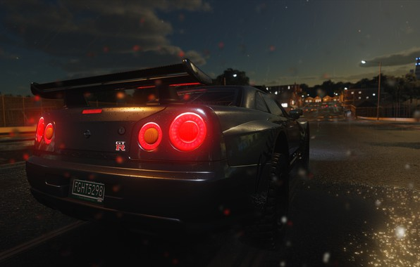 Picture car, GTR, USA, game, The Crew, Vermont, Green Mountain State