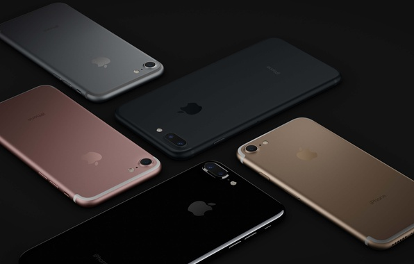 Picture iPhone, logo, technology, cell phone, high tech, smartphones, iPhone 7