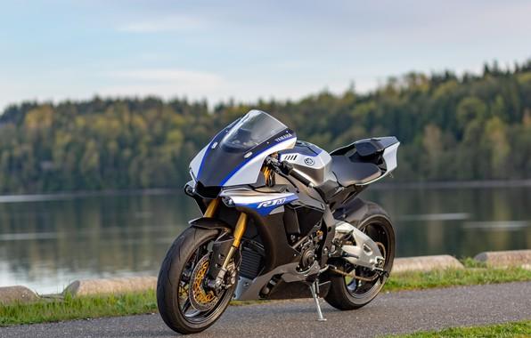 Picture design, style, motorcycle, razor, Yamaha R1M