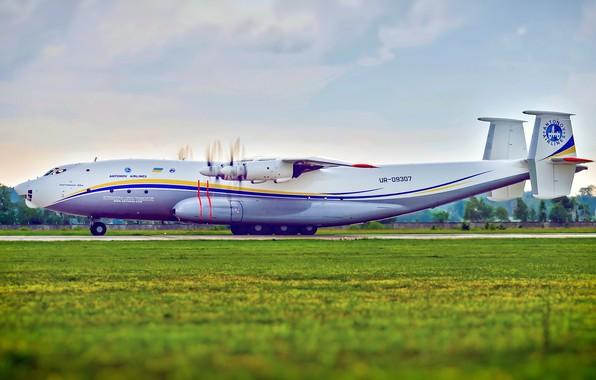 Picture The plane, Wings, Engines, Ukraine, Soviet, Antonov, Huge, Antonov, Antey, An-22, OKB. O. K. Antonov, …
