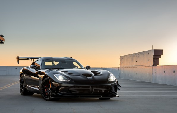 Picture Dodge, Viper, Black, ACR